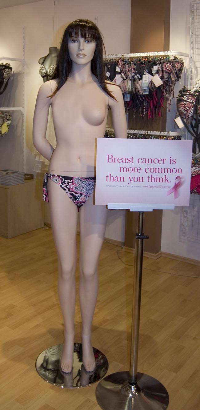 Fight Breast Cancer Mannequin