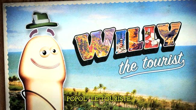 AIDES Willy The Tourist