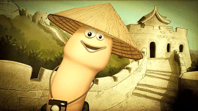 AIDES Willy The Tourist in China