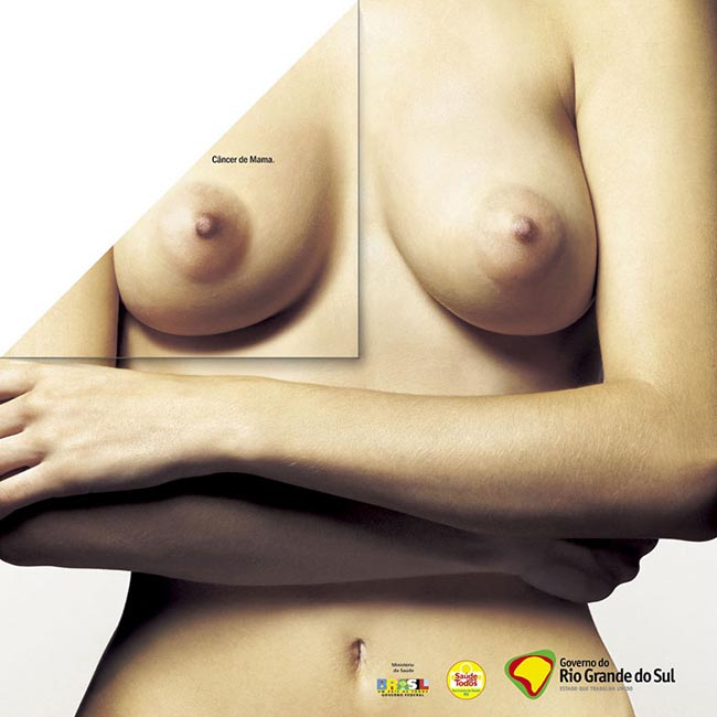 breast cancer poster from Brazil