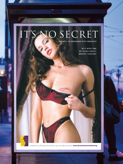 It's No Secret Breast Cancer Poster