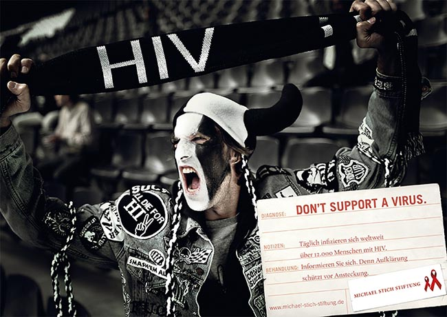 Michael Stich Stiftung HIV Fan