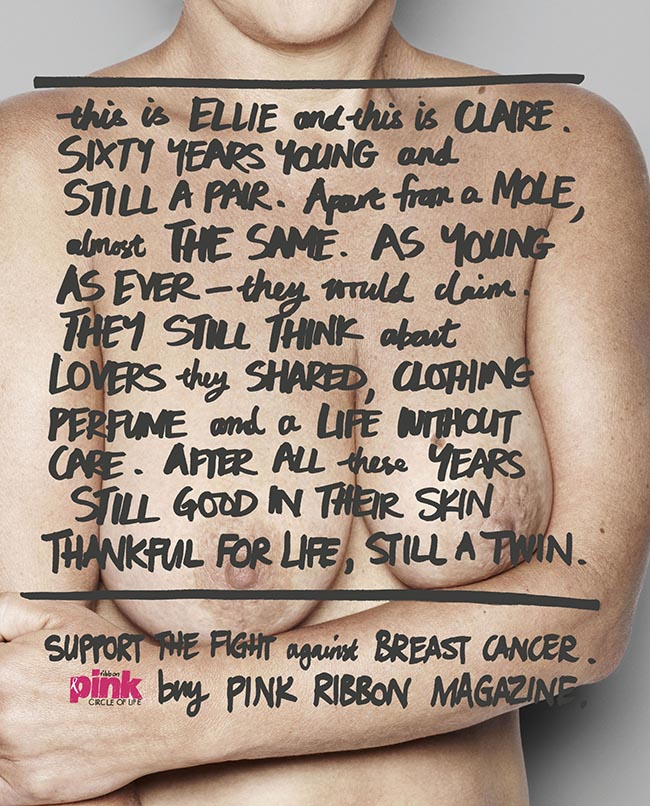 Pink Ribbon Ellie and Claire