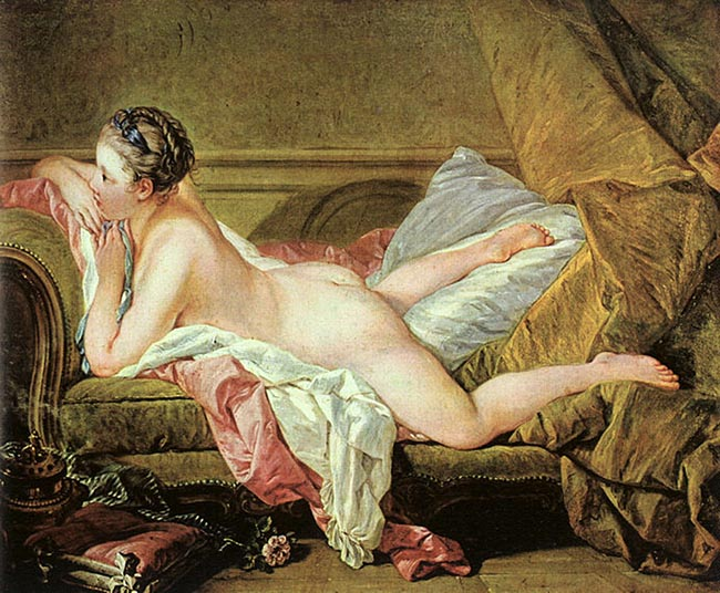 Boucher Nude on a Sofa