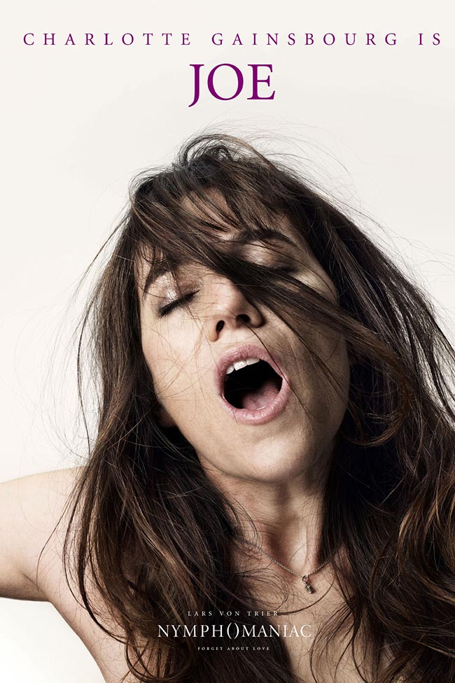 Nymphomaniac Charlotte Gainsbourg is Joe