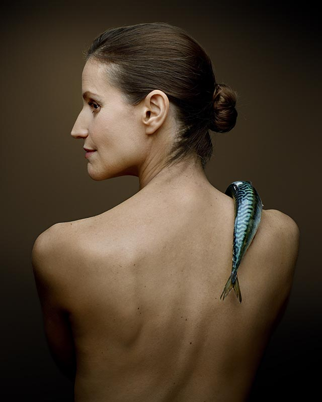 Fishlove Joanna Bergin and Mackerel - photography Denis Rouvre