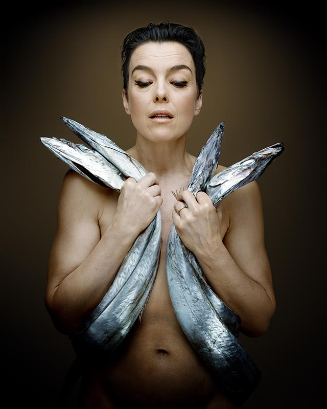 Fishlove Olivia Williams and Sabre Fish - photography Denis Rouvre