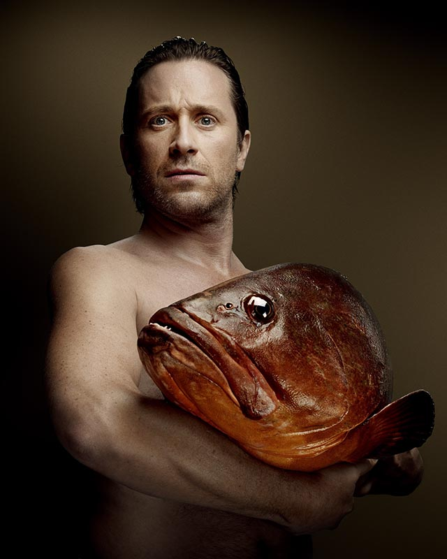 Fishlove Thomas Dutronc and Dusky Grouper - photography Denis Rouvre