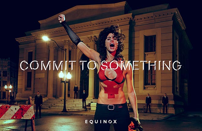 Equinox Commit to Something - Protester