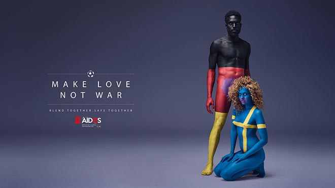 AIDES Colors of Love Germany and Sweden