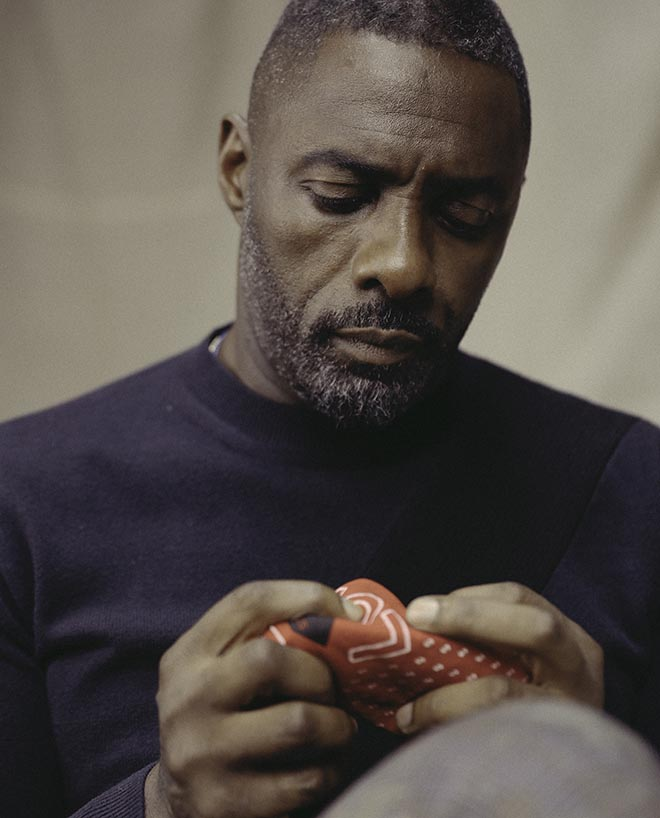 Idris Elba with bandana in Stella McCartney All is Love short film